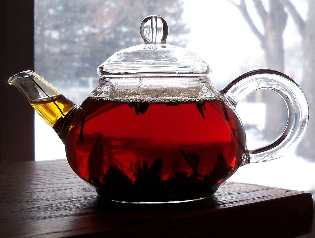 свнжезаваренный чай