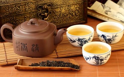 подача китайского чая