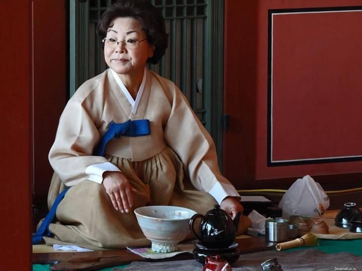 корейское чаепитие