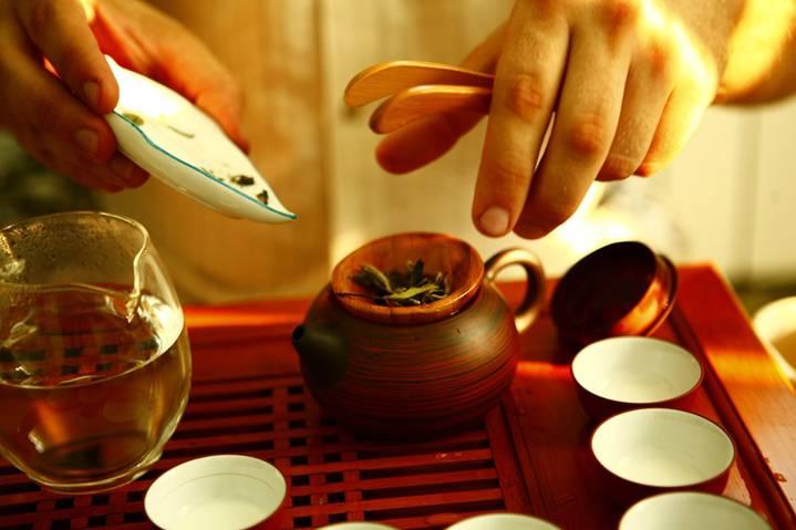 подготовка чайной церемонии
