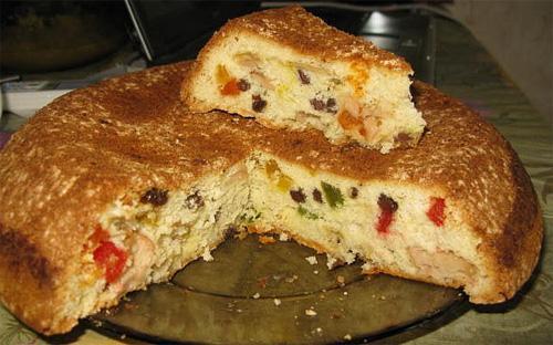 классический пирог домашнего изготовления