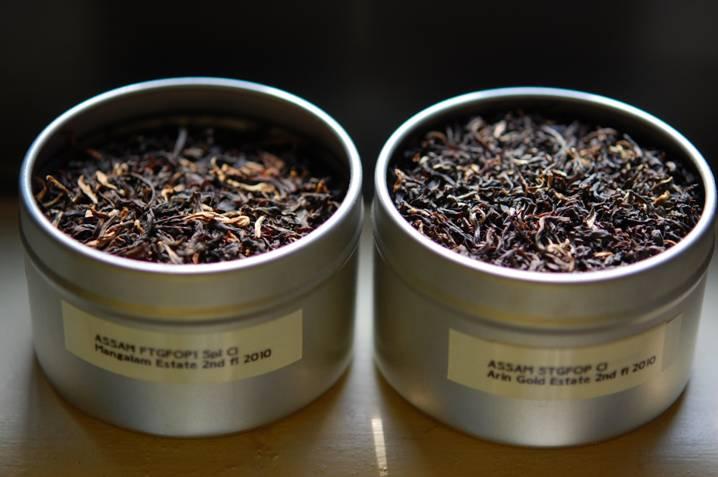 металлическая банка с чаем