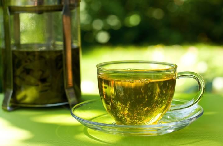 чай из френч пресса