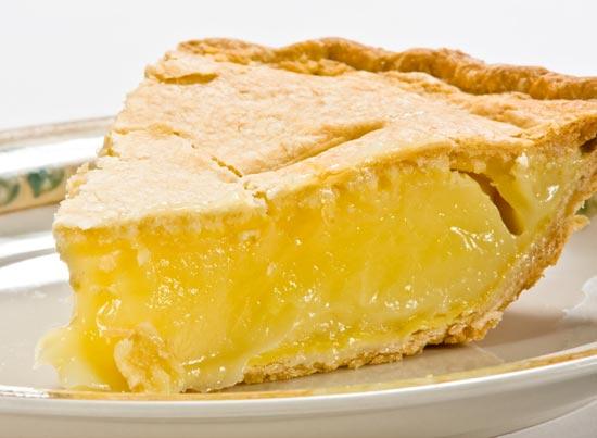 пирог с желтой начинкой
