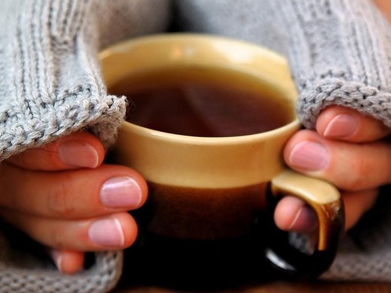 согреься чашкой чая