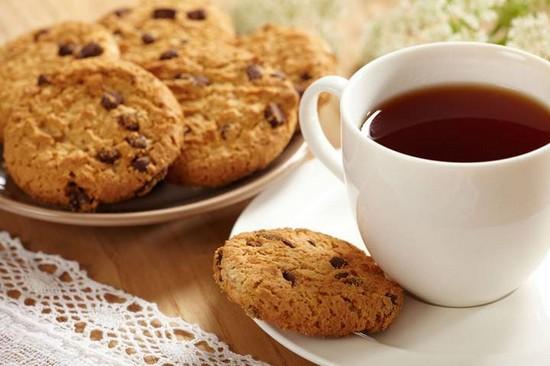 печеньки с шоколадом