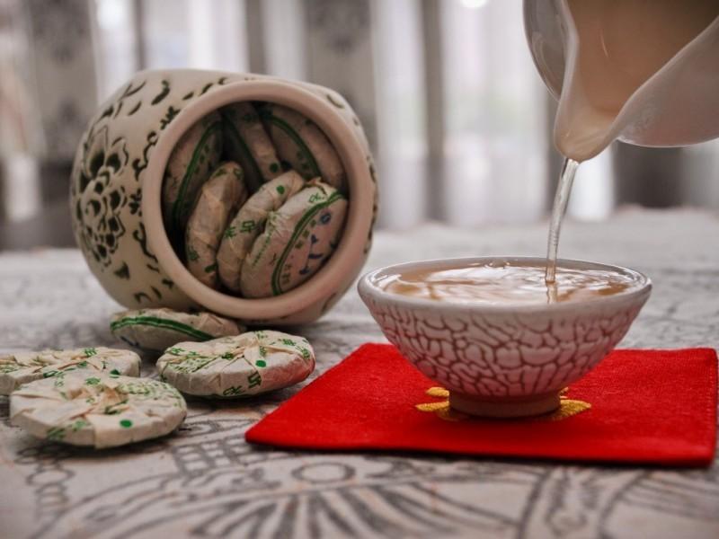 упакованный индивидуально чай