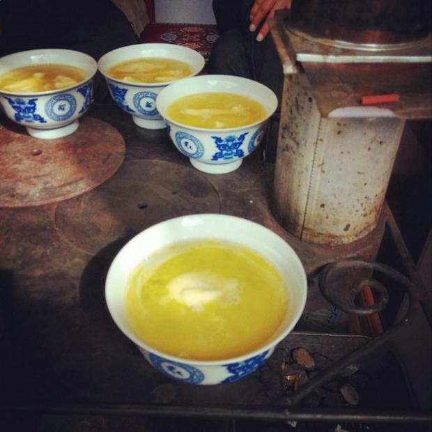 чай с маслом