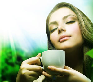 аромат напитка