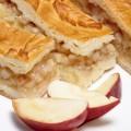 пирог закрытый с яблоком