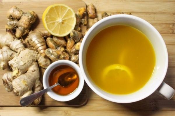 Чай с имбирем для иммунитета: с лимоном и медом