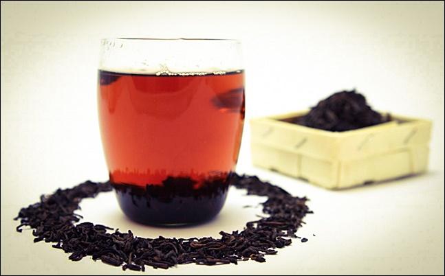 Черный чай кофеин