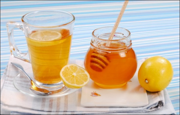 Как сделать чай с медом от простуды thumbnail
